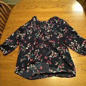 Maurice's 3/4 Dress Shirt
